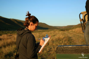 keeping-records-of-camera-trap-locations-gondwana-game-reserve