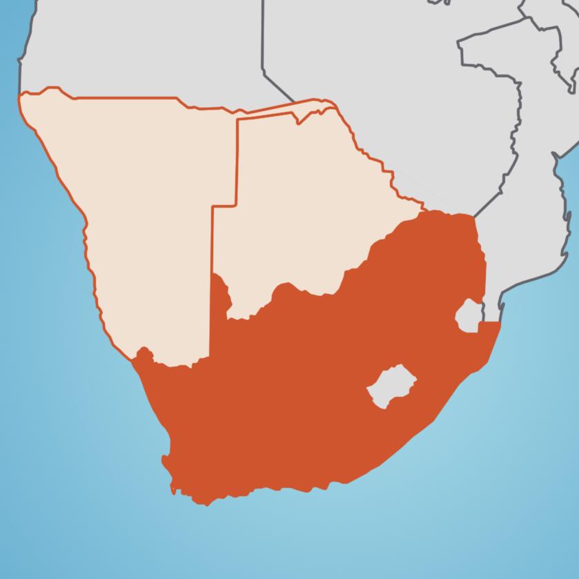 map-suedafrica