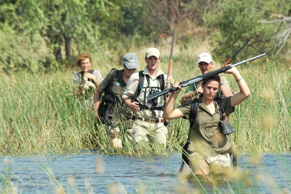05 Bush Walk Okavango Elela Africa
