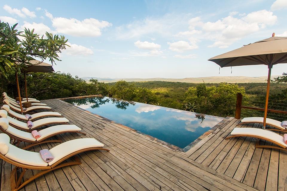 09 Rhino Ridge Pool Elela Africa