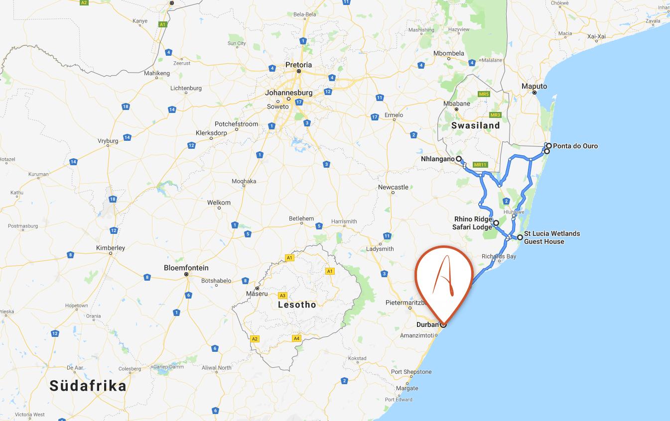 Map-Zululand